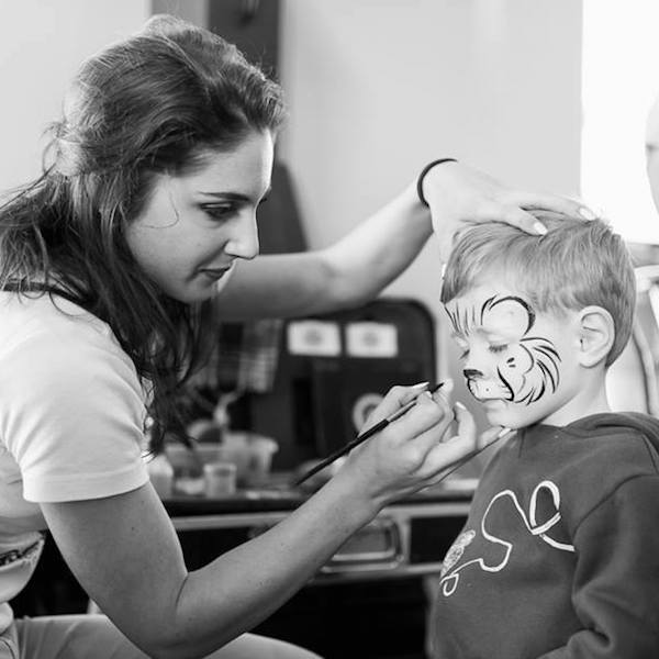 Face Painter Bazinga Parties Zurich Switzerland