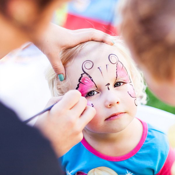 Face Painting Kids Party Entertainment Bazinga Parties Basel