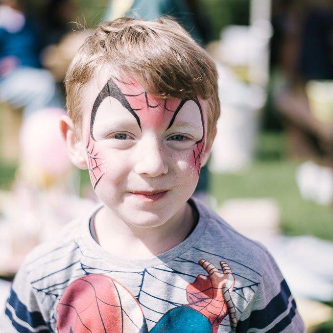 Face Painting Kids Party Entertainment Bazinga Parties Geneva