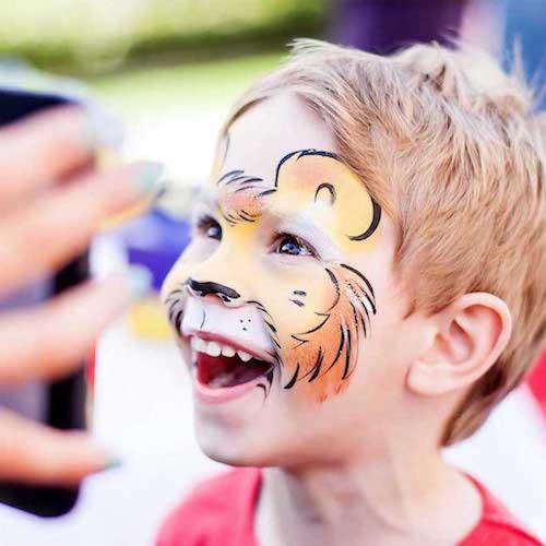 Face Painting Kids Party Entertainment Winterthur Bazinga