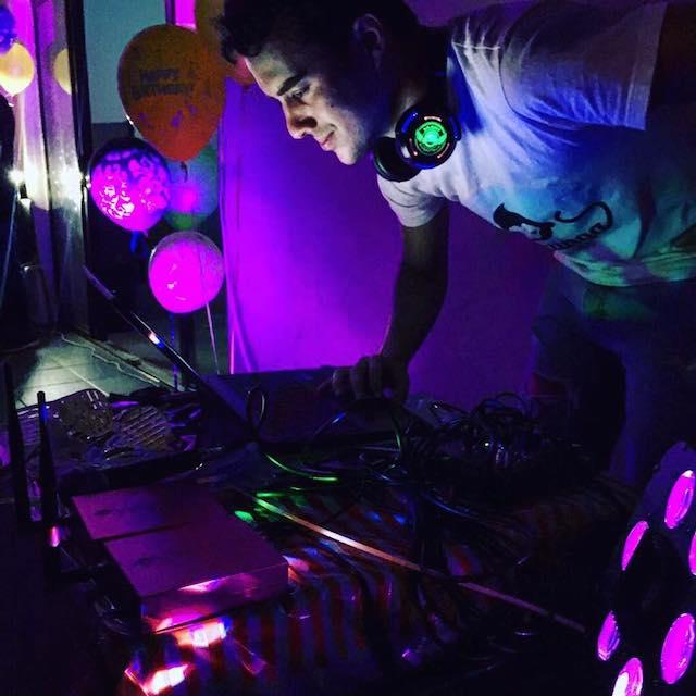 SIlent Disco DJ Bazinga Parties Zürich